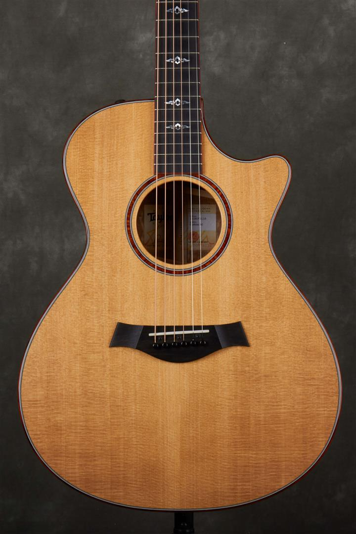 Taylor Custom GC-ce Koa Electro-Acoustic Guitar - Natural